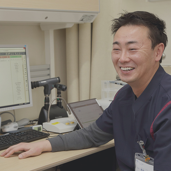 地域の皆さんの医療の総合窓口として  風邪や、生活習慣病など患者さまとしっかりコミュニケーションを取りながら丁寧に治療を進めていきます